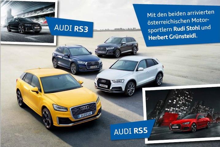 Audi Testtage